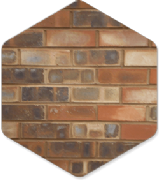 York Machine Made Huby 65mm Brick